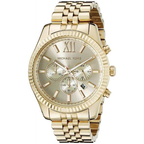 Michael Kors men's watch Lexington Collection MK8281 golden
