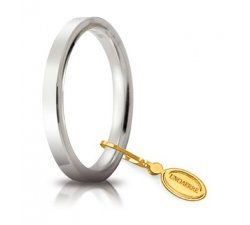 Fede Nuziale Unoaerre Cerchi di Luce Oro Bianco