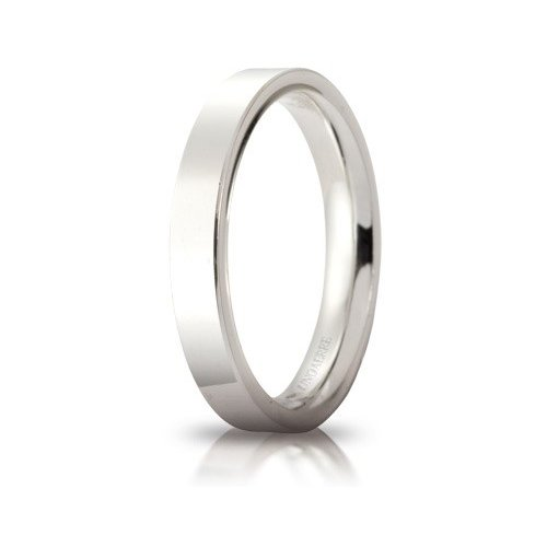 Unoaerre Wedding Ring Circles of Light 3.5 mm White Gold