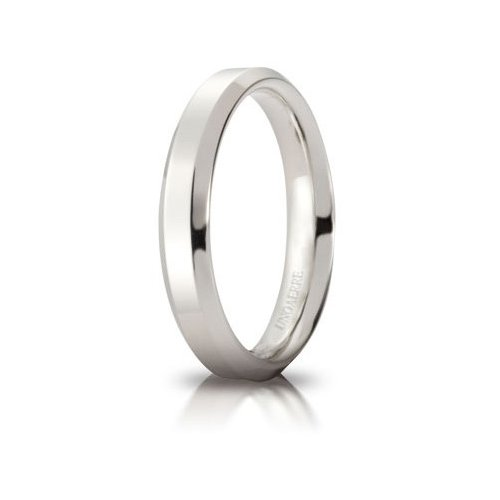 Unoaerre Hydra Wedding Ring White Gold Brilliant Promises