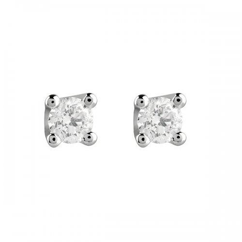 Salvini light point earrings white gold and Virginia diamonds 20067686