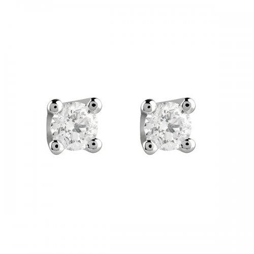 Salvini light point earrings white gold and Virginia diamonds 20067688