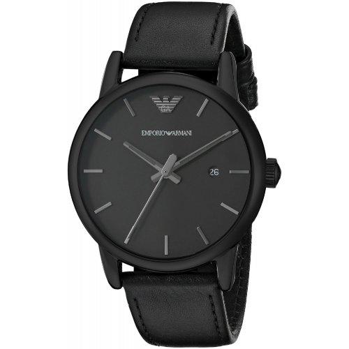 Emporio Armani men's watch AR1732 in black steel