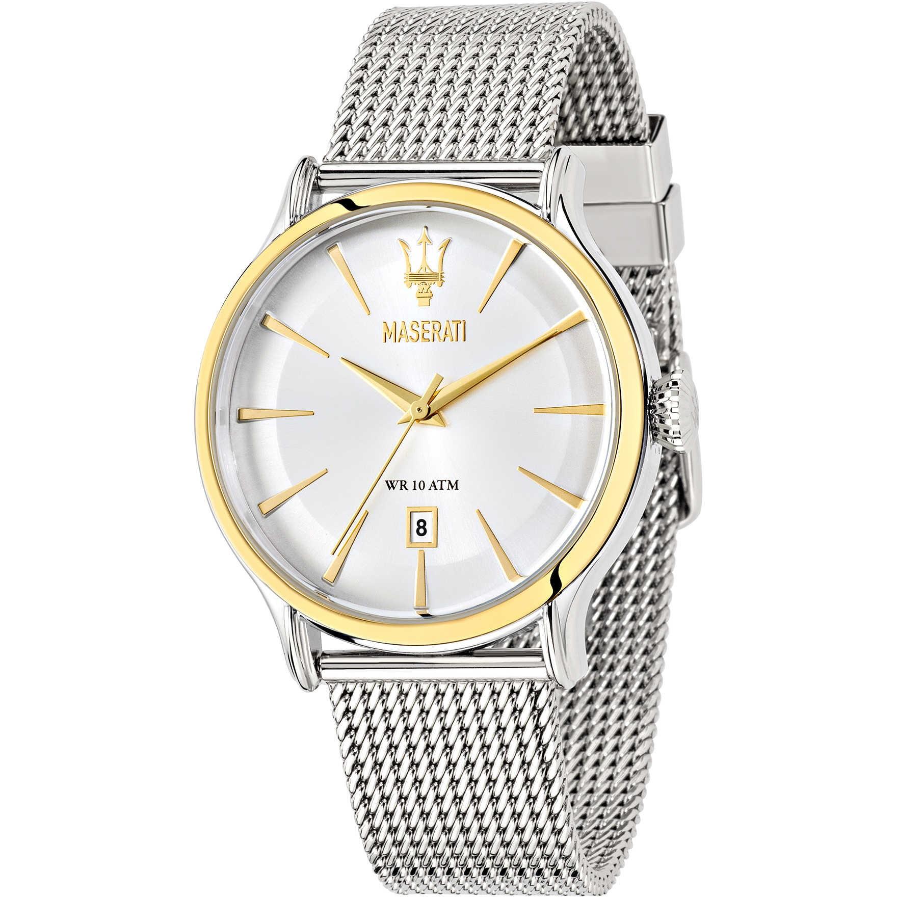 orologio maserati da uomo collezione epoca r8853118001