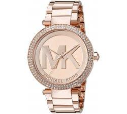 Orologio da donna Michael Kors in acciaio oro rosa Parker MK5865