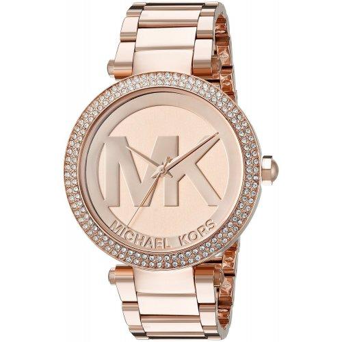 Michael Kors women's watch in rose gold steel Parker MK5865