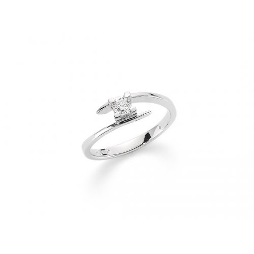 Yukiko solitaire women's ring in 750 gold LID3117Y_004S