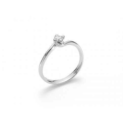 Yukiko solitaire woman ring in 750 gold LID3115Y_005S