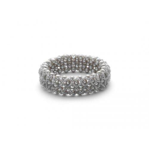Bracciale di perle Yukiko collezione Nuovo Intreccio PBR2296Y