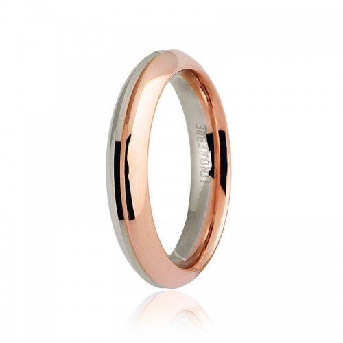 Wedding ring Unoaerre model Eterna Collection 9.0