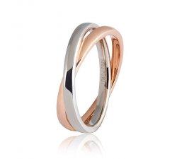 Wedding ring Unoaerre model Together Collection 9.0