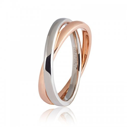 Wedding ring Unoaerre model Together Collection 9.0