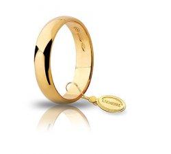 Unoaerre Wedding Ring Yellow Gold Wide 4 grams