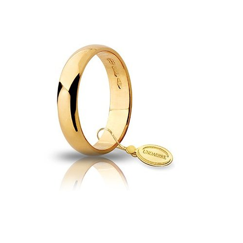 Unoaerre Wedding Ring Yellow Gold Wide 4 grams