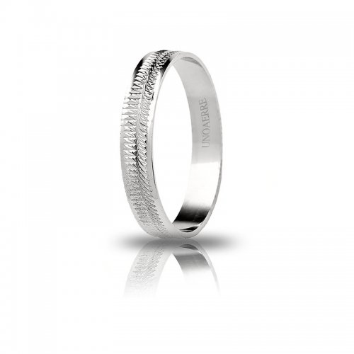 Unoaerre ring in 18 kt white gold Dalia