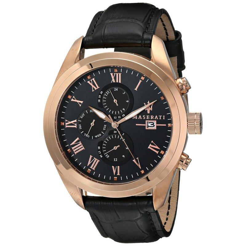 Orologio maserati da uomo collezione traguardo r8871612002 for Orologi svizzeri uomo