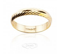 Diana ring in 18 kt yellow gold FD10L3OG