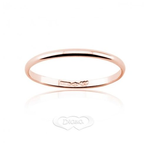 Diana ring in 18 kt F1OR rose gold