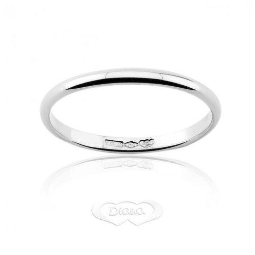 Diana ring clip in 18 kt white gold F150OB