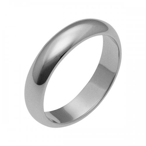 Platinum wedding band classic model 10 grams