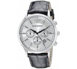Orologio EMPORIO ARMANI da Uomo AR2432 Cronografo Cassa in Acciaio