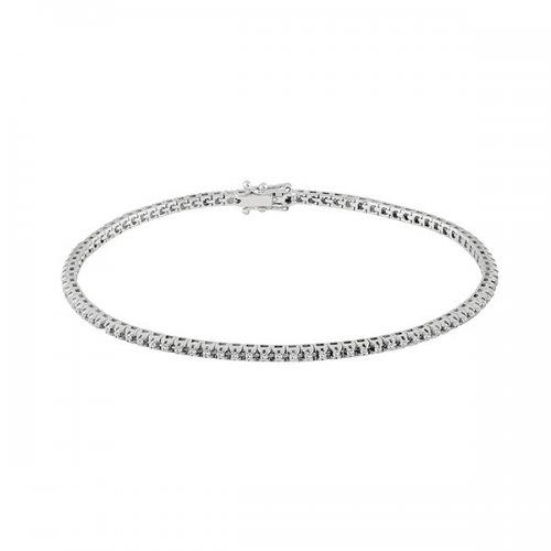 Salvini Tennis Bracelet White Gold Diamonds Ref. 20069178