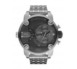 Orologio da uomo DIESEL Little Daddy DZ7259 Cronografo in acciaio