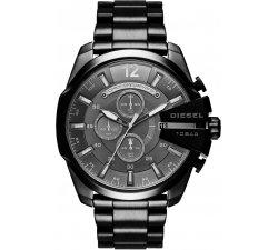 Orologio da uomo Diesel Mega Chief DZ4355 Cronografo Nero