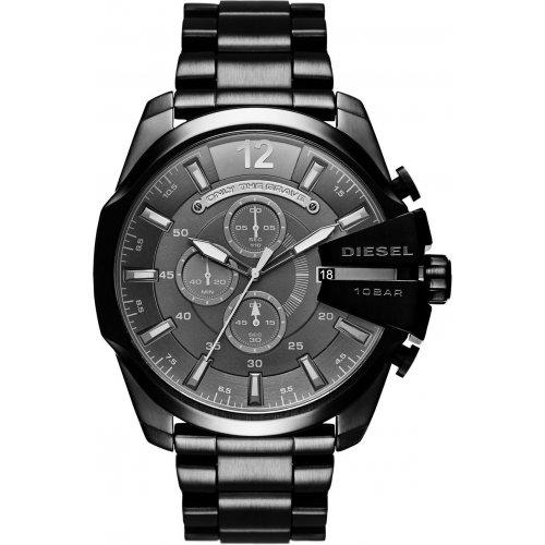 Diesel Mega Chief DZ4355 Chronograph Men's Watch Black