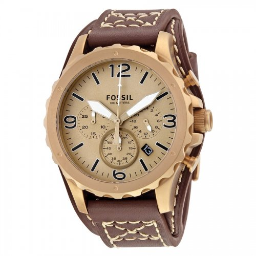 Fossil men's watch JR1495 Nate Chronograph Collection