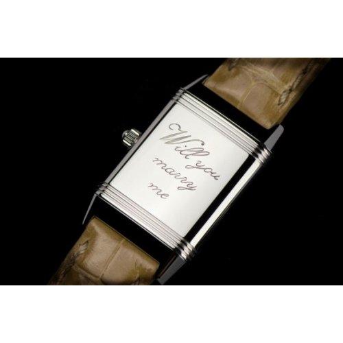 Incisione personalizzata orologio