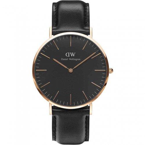 Daniel Wellington Men's Watch Classic Black Sheffield DW00100127