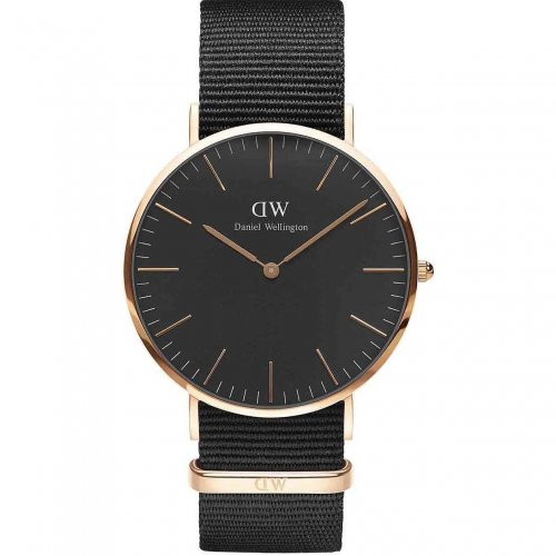 Daniel Wellington Men's Watch Classic Black Cornwall DW00100148