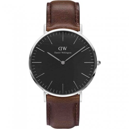 Daniel Wellington Men's Watch Classic Black Bristol DW00100131