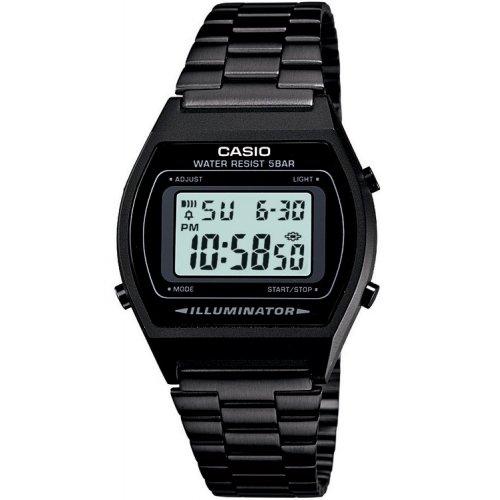 CASIO B640WB-1AEF Vintage watch in black PVD steel
