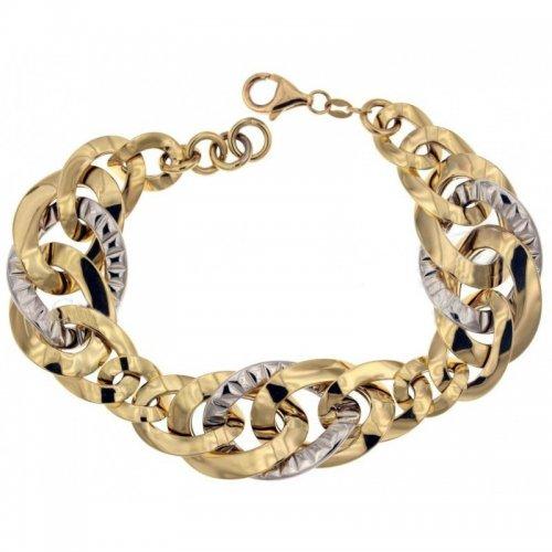 Yellow and white gold women's bracelet 803321731013