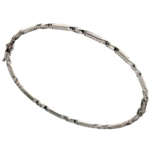 Rigid bracelet for women in white gold 803321728647
