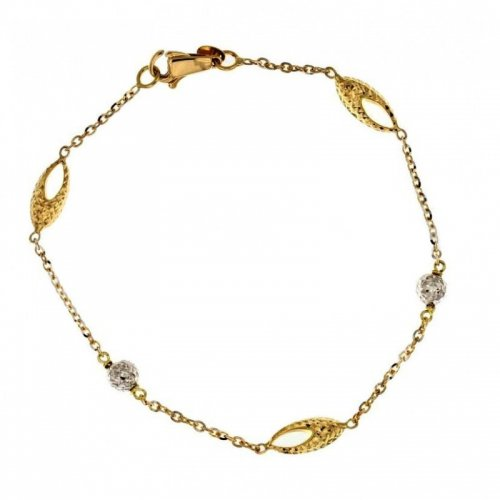Yellow and white gold women's bracelet 803321724455