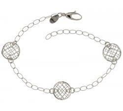 White gold women's bracelet 803321734670