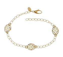 Yellow Gold Ladies Bracelet 803321734673