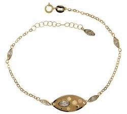 Bracciale donna in oro giallo 803321702021