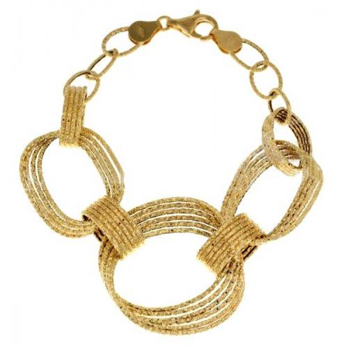 Yellow gold women's bracelet 803321722642