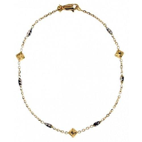 Yellow and white gold women's bracelet 803321724448