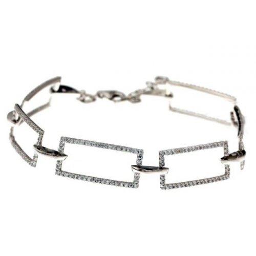 White gold women's bracelet 803321730481