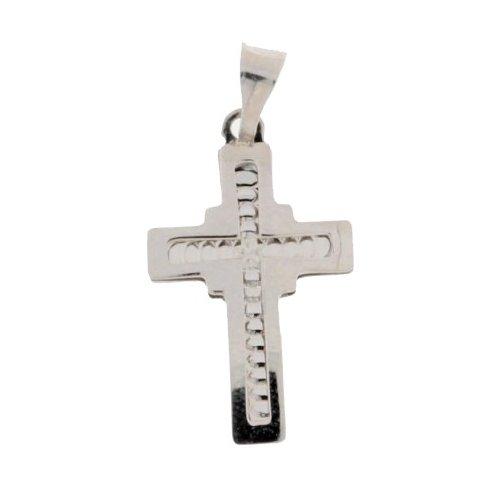 White Gold Cross 803321713765