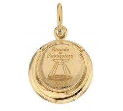 Medaglia Ciondolo da Battesimo Oro Giallo 803321734469