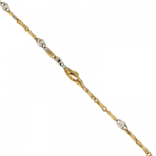 Men's Bracelet in Yellow and White Gold 803321710598
