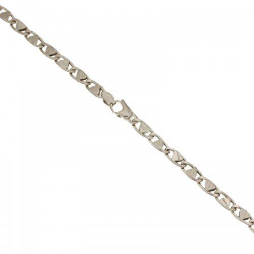 Bracciale Uomo in Oro Bianco 803321714647