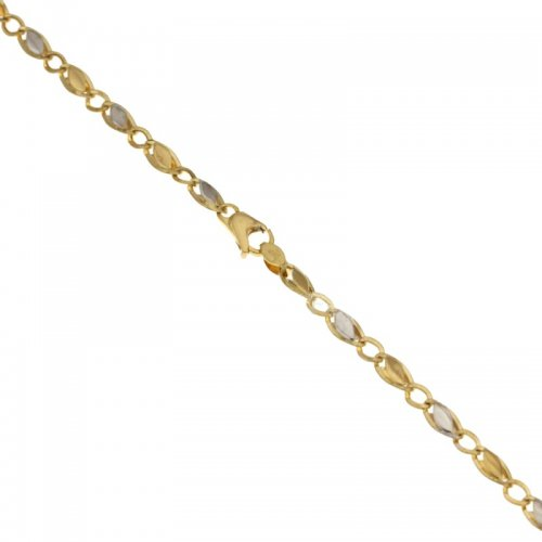 Men's Bracelet in Yellow and White Gold 803321718171