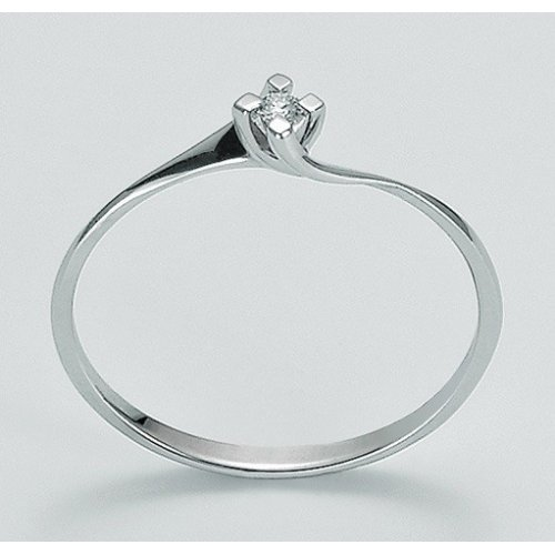 Yukiko solitaire woman ring in 750 gold LID2932Y_006S
